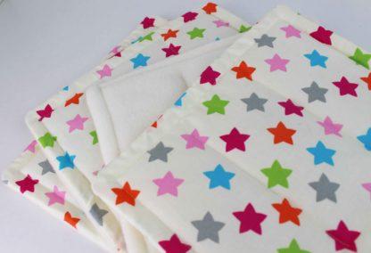 Ponytraum Bandagierunterlagen Sterne bunt